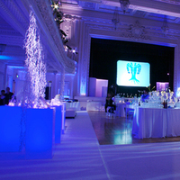 Reception, Flowers & Decor, Decor, blue, Lighting, Got light