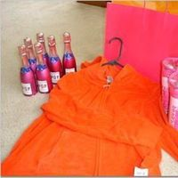 Favors & Gifts, orange, pink, Favors