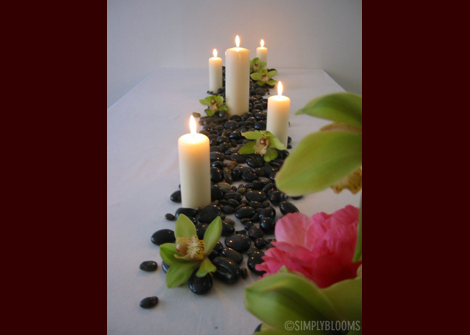 Flowers & Decor, Candles, Flowers, Simply blooms