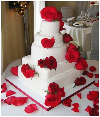 Cakes, red, cake, Sweet traders
