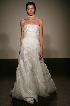 Wedding Dresses, Fashion, dress, Strapless, Strapless Wedding Dresses, Angel sanchez