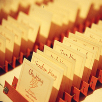 Stationery, Escort Cards