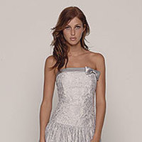 Bridesmaids, Bridesmaids Dresses, Fashion, silver, Jenny yoo