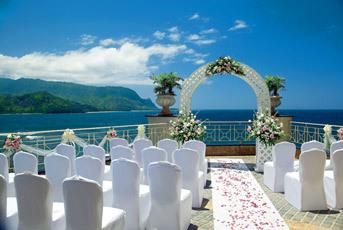 white, Arch, Ocean, Princeville resort