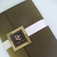 pink, brown, Serendipity design, Pocketfold