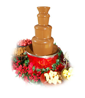 Pure bliss chocolate fountain