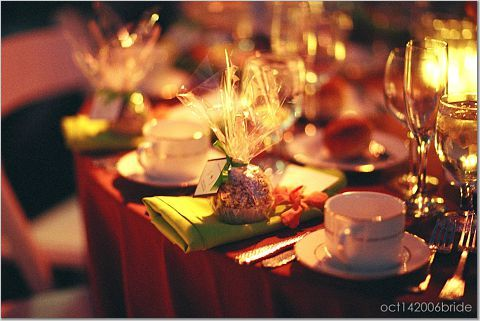Reception, Flowers & Decor, orange, red