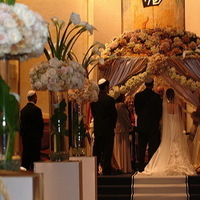 Flowers & Decor, Square, Flowers, And, Floral, By, Designs, Root, Chuppah, Fabric