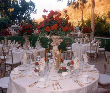 Reception, Flowers & Decor, Centerpieces, Centerpiece, Middle ranch, Outdoors