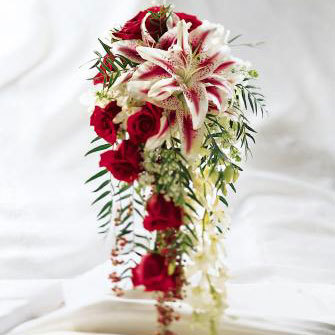 white, Roses, Orchids, Masseys house of flowers, Stargazers, Cascade, Lilacs