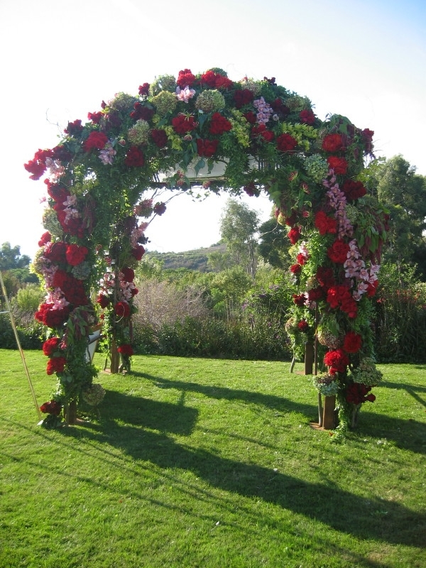 Flowers & Decor, Square, Flowers, By, Designs, Root, Chuppah