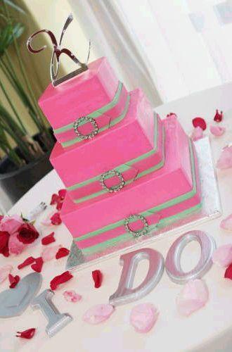 Cakes, pink, cake