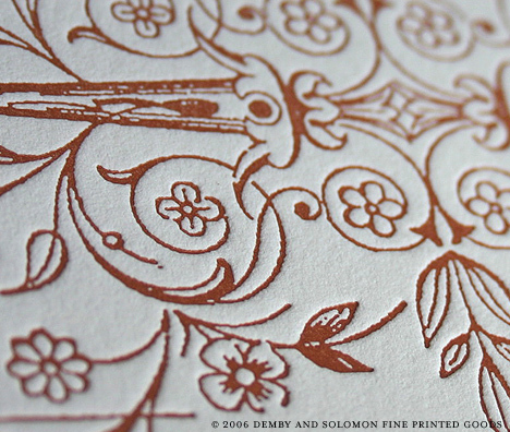Stationery, invitation, Invitations, Custom, Letterpress, Demby solomon fine printed goods, Flourish, Ornate