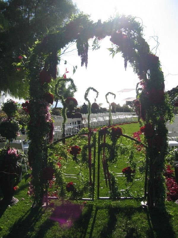 Flowers & Decor, Aisle Decor, Flowers, Gate, Aisle, To