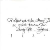 Calligraphy, Victorias inkwell, Envelope