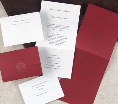 Stationery, red, Invitations, Rexcraft