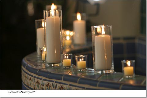 Ceremony, Flowers & Decor, Decor, Candles