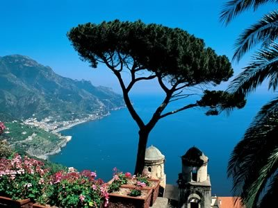 Destinations, Europe, Hotel caruso in ravello, italy