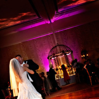 Reception, Flowers & Decor, red, purple, Lighting, Dance, Fairmont hotel
