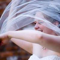 Veils, Fashion, Bride, Veil, Blowing, Laughing