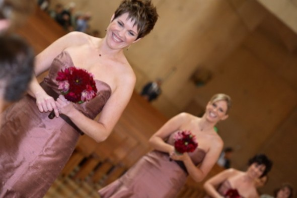 Bridesmaids, Bridesmaids Dresses, Fashion, pink, red