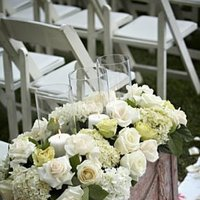 Flowers & Decor, white, green, Ceremony Flowers, Aisle Decor, Classic Wedding Flowers & Decor