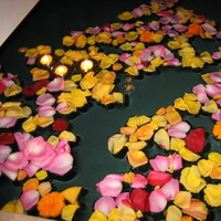 Candles, Rose, Petals, Private, Home, Floating, Pool, Conversion