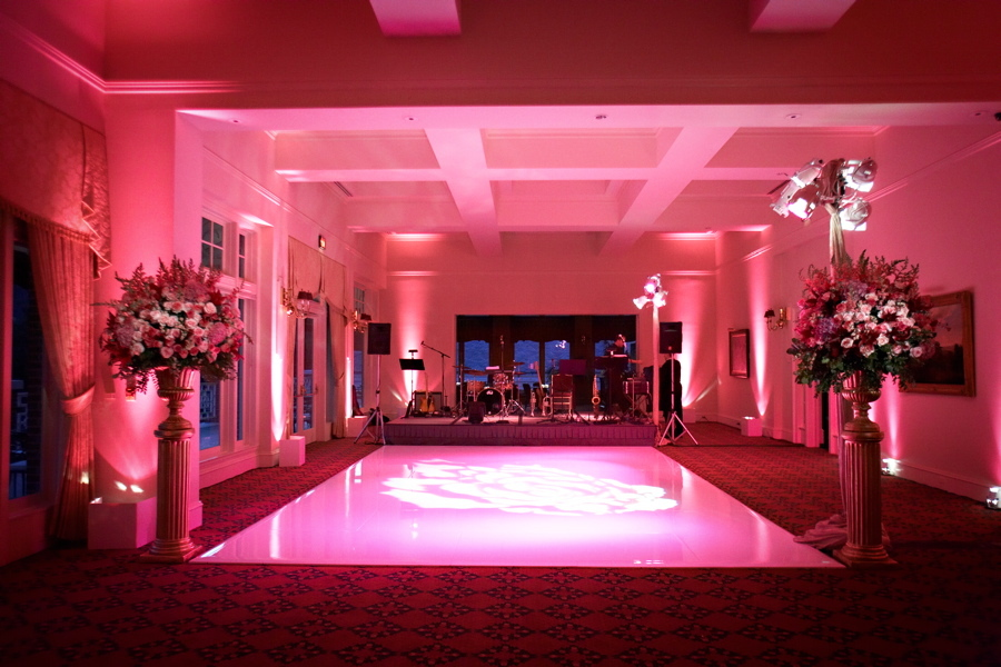 Reception, Flowers & Decor, pink, Lighting