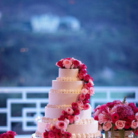 Cakes, pink, cake, Floral Wedding Cakes, Glam Wedding Cakes