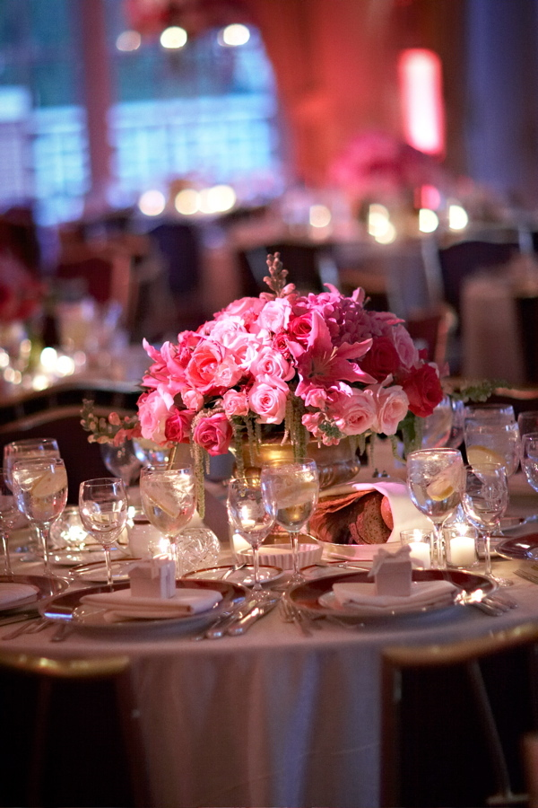 Flowers & Decor, pink, Centerpieces, Flowers, Centerpiece, Low