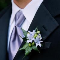 Flowers & Decor, purple, Boutonnieres, Flowers, Boutonniere