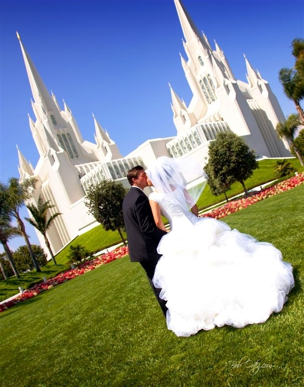 Bridal, Couple, Weddings, La, Beautiful, Temple, Jolla, Mormon