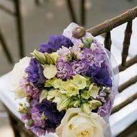 Flowers & Decor, purple, Ceremony Flowers, Aisle Decor