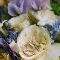 Flowers & Decor, Jewelry, purple, Flowers, Rings