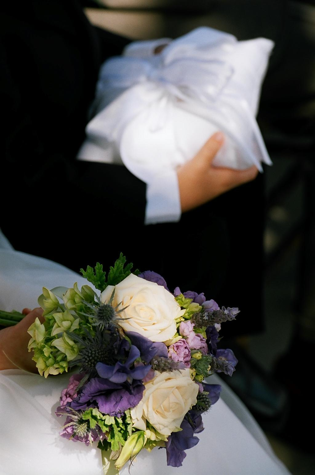 Ceremony, Flowers & Decor, purple, Ceremony Flowers, Flowers, Pillow, Flower_girl, Ring_bearer