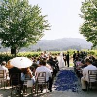 Ceremony, Flowers & Decor, purple, Vineyard, Chiavari, Parasol