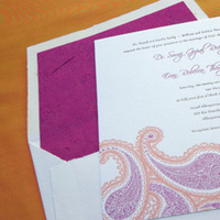Stationery, pink, invitation, Invitations, Twig fig