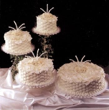 Cakes, white, cake, Hansens cake