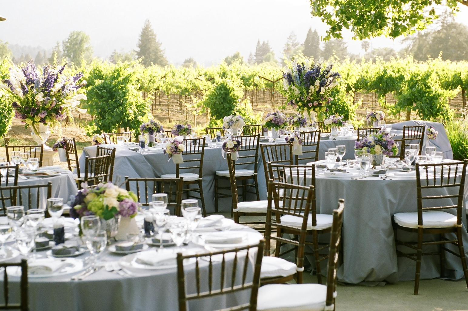 Vineyard Wedding Flowers & Decor