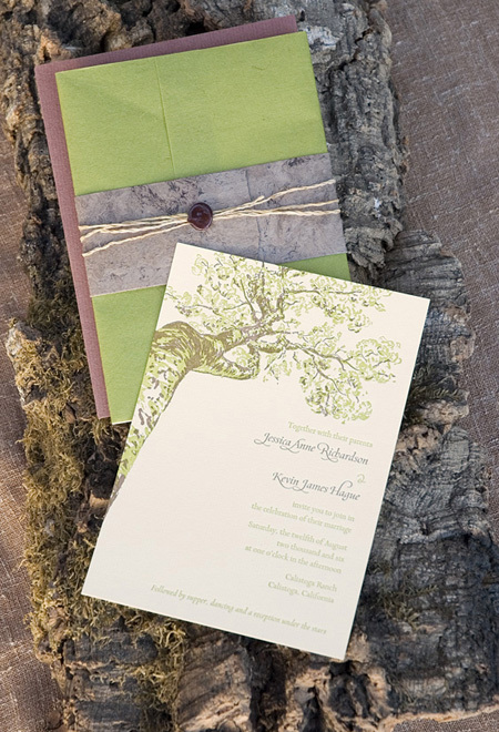Stationery, purple, green, invitation, Invitations, Twig fig