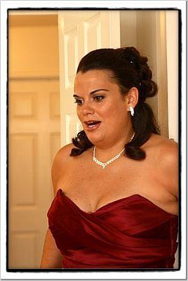 Bridesmaids, Bridesmaids Dresses, Fashion, red