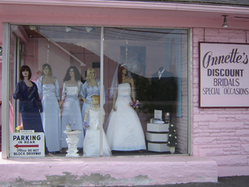 Annettes discount bridals