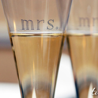 Reception, Flowers & Decor, Toasting flutes