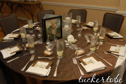 DIY, Centerpiece, Table setting, Linens
