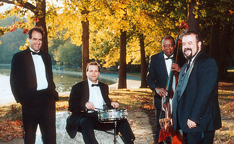 Au privave, the jazz quartet