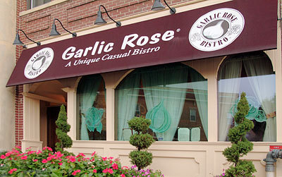 Garlic rose bistro