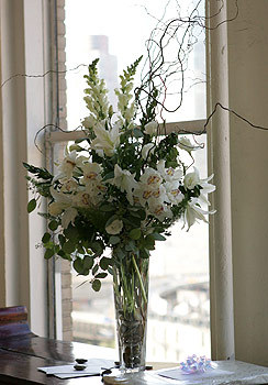 Flowers & Decor, white, Flowers, Black eyed suzies