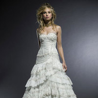 Beauty, Wedding Dresses, Fashion, dress, Hair
