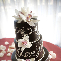 Flowers & Decor, Cakes, cake, Flowers, Chocolate