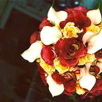 Flowers & Decor, red, Flowers, Black eyed suzies